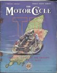 MOTORCYCLE - MOTORCYCLE MAGAZINE - 7TH JUNE 1951 - M1235